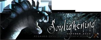 Soulightning October 2013