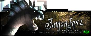 Jamandy52 November 2013
