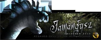Jamandy52 December 2013