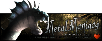 MetalManiac9 December 2014