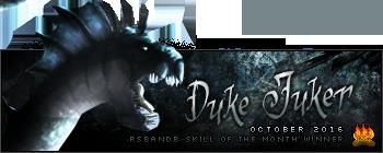Duke Juker October 2016